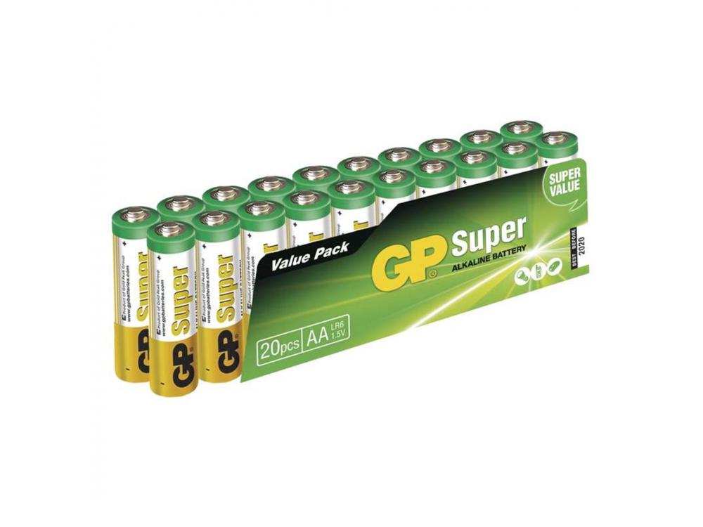 Batéria GP SUPER ALKALINE BATTERY AA (LR6) - 20KS -