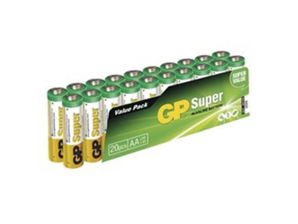 Batéria GP SUPER ALKALINE BATTERY AAA (LR03) - 20KS -