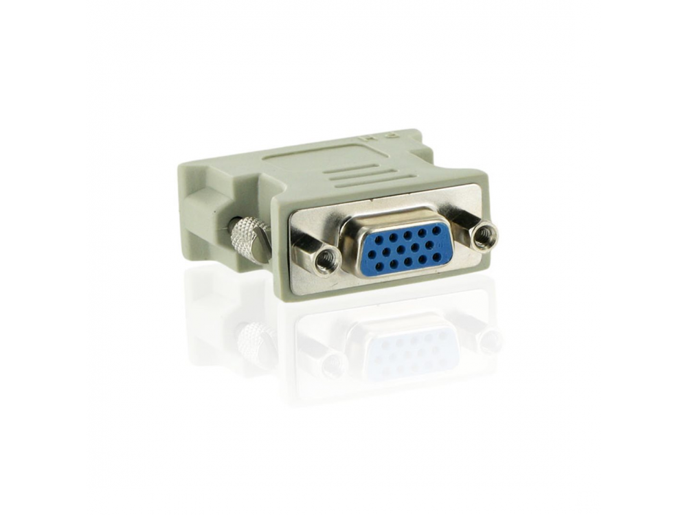 Cable video 4World Adapter DVI - VGA - NEW