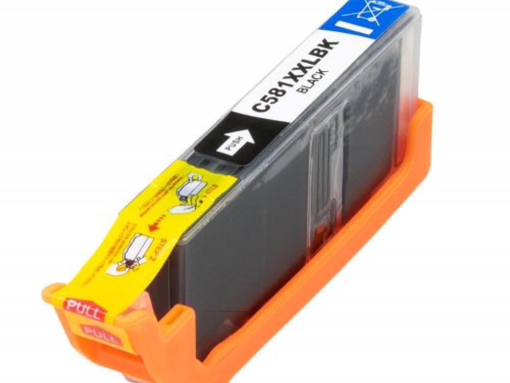 Cartridge G&G NP-C-0581 XXL BK - With Chip - Black | NEW | 12,2ml