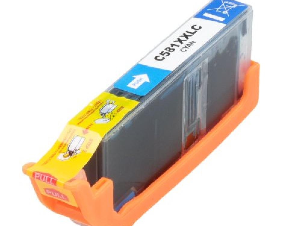 Cartridge G&G NP-C-0581 XXL C - With Chip - Cyan | NEW | 12,2ml