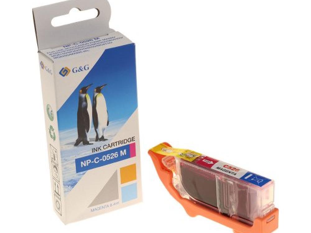 Cartridge G&G NP-C-0526M(with chip) - Magenta | NEW | 8,4ml