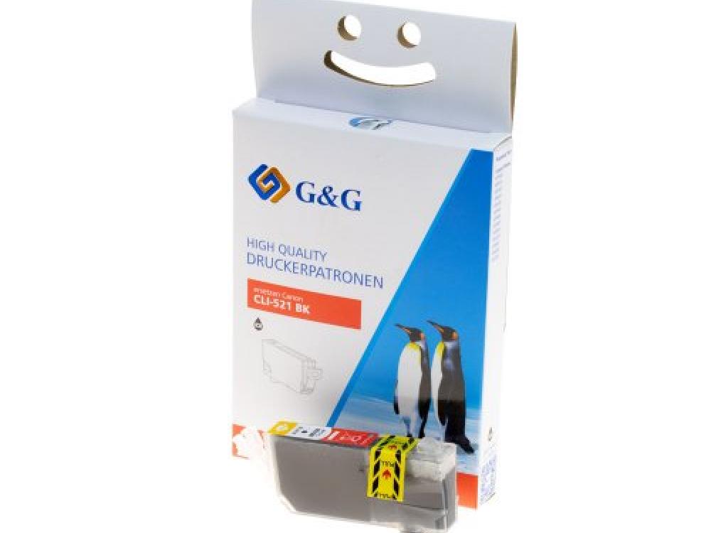 Cartridge G&G NP-C-0521 BK (with chip) - Black   NEW   8,4ml