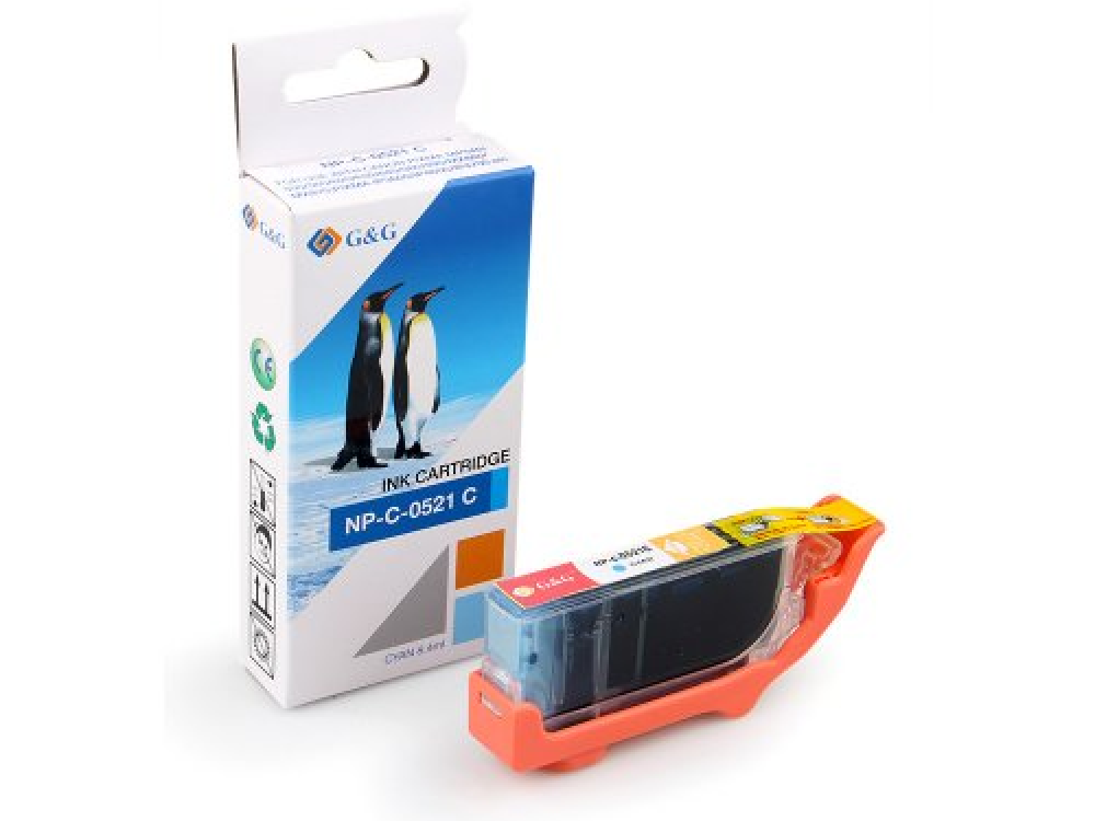 Cartridge G&G NP-C-0521 C (with chip) - Cyan | NEW | 8,4ml
