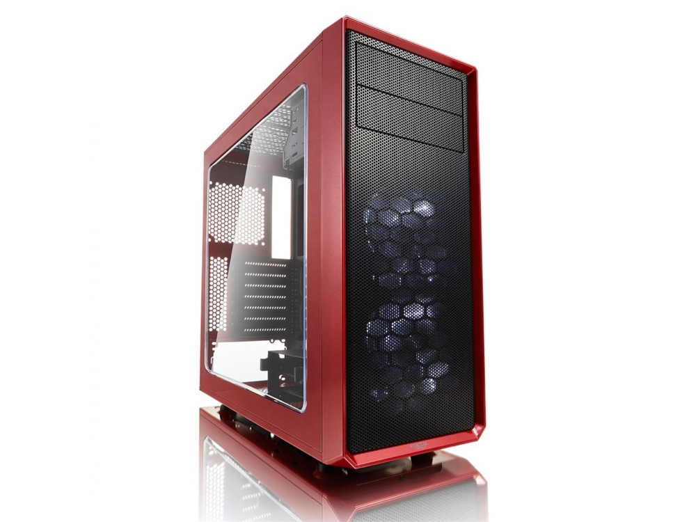 Case PC Fractal Design Focus G - RED - NEW