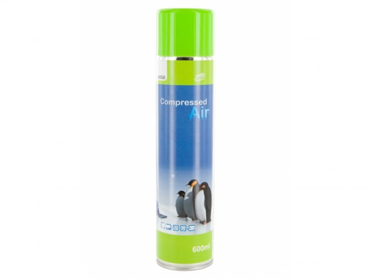 4World Compressed Air 600ml Cleaning PC/NB - 1200004 #1