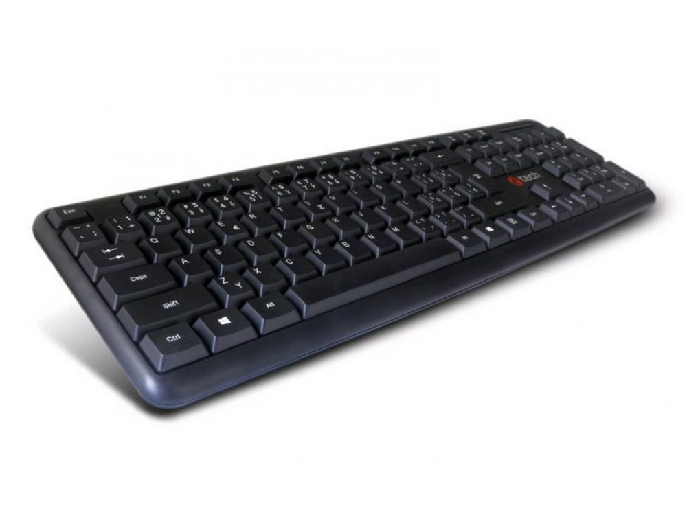 Klávesnica C-Tech CZ/SK KB-102 USB slim - SK-CZ keyboard | NEW | Wired