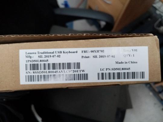 Lenovo Traditional, USB, PN: SD50L80045, DE layout Klávesnica - 1380042 #3