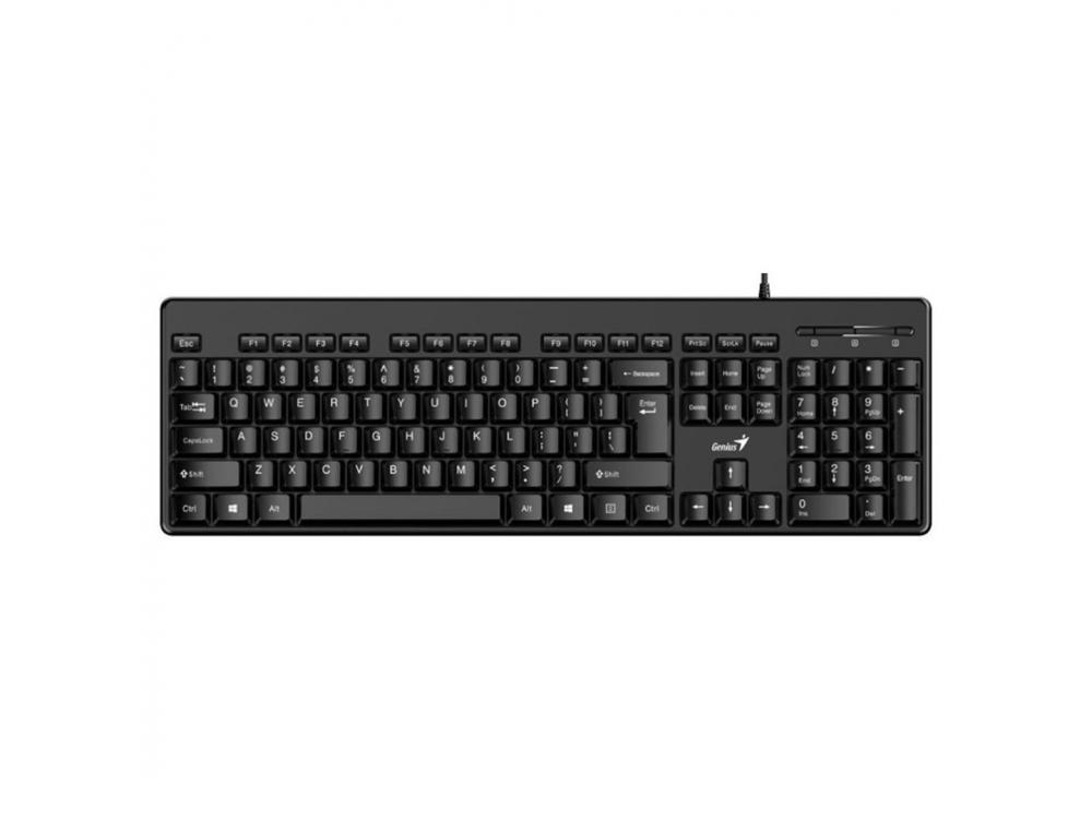 Klávesnica Genius KB-116 Classic USB, Black, CZ+SK layout - SK-CZ keyboard | NEW | Wired