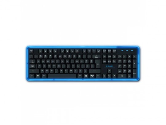 E-BLUE K734, Wired, US Layout, Illuminated 3 Color, Klávesnica - 1380051 #3