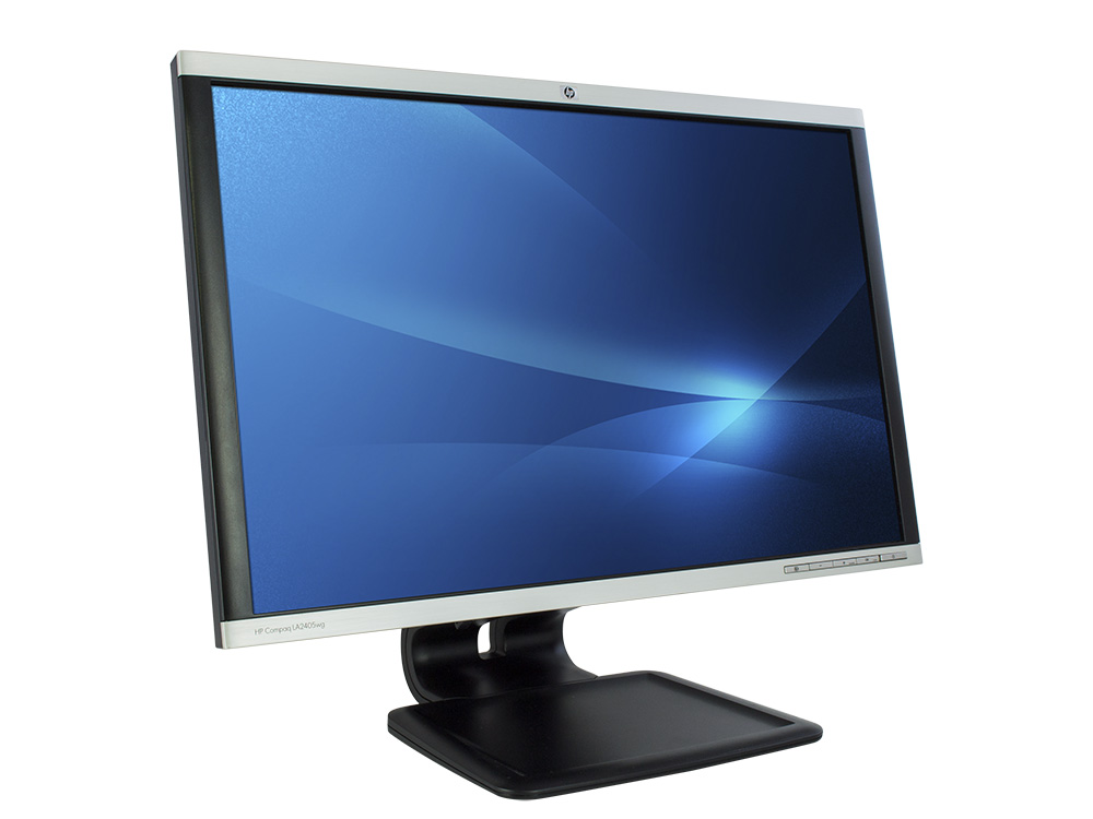 "HP LA2405x - 24"" | 1920 x 1200 | LED | DVI | VGA (d-sub) | DP | USB 2.0 | Silver"