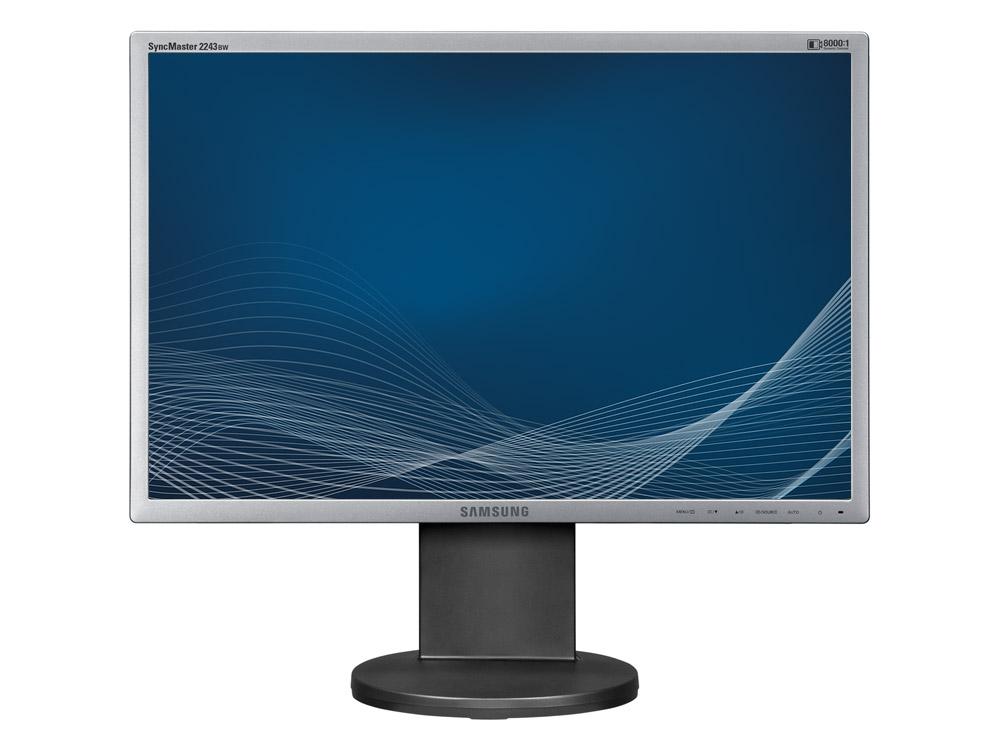 "Samsung SyncMaster 2243BW - 22"" | 1680 x 1050 | DVI | VGA (d-sub) | Silver"