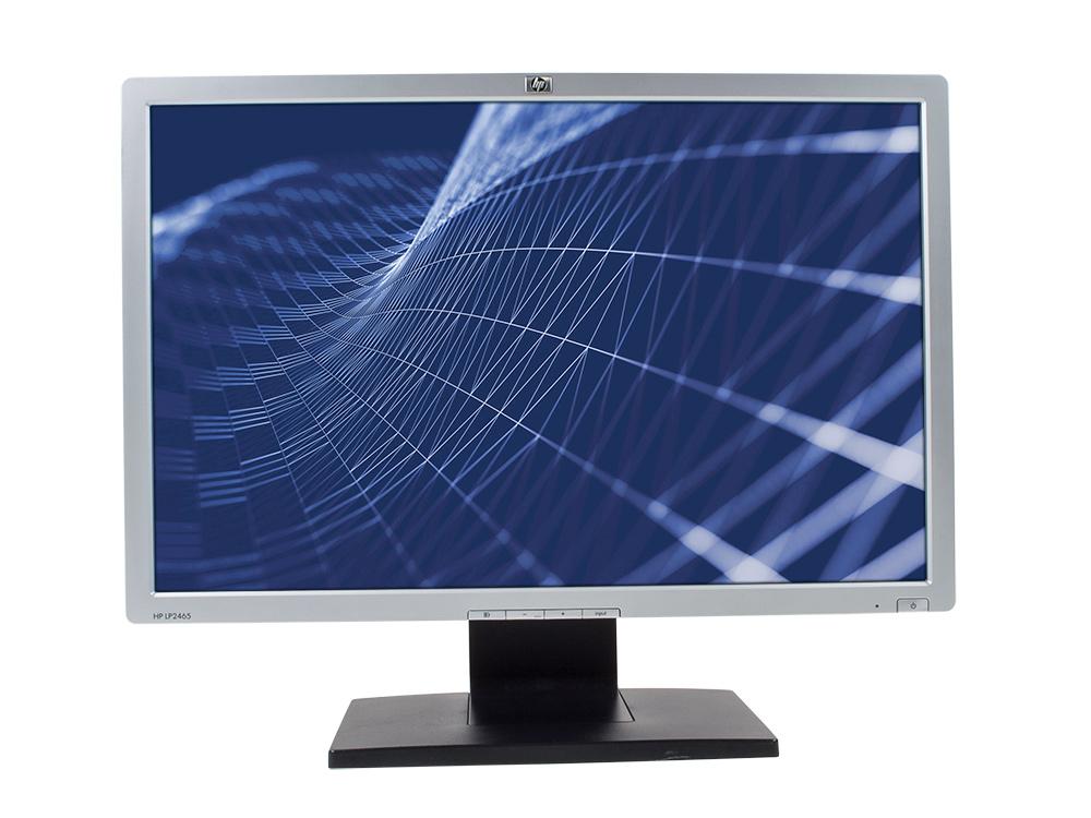 "HP LP2465 - 24"" | 1920 x 1200 | DVI | USB 2.0 | Silver"