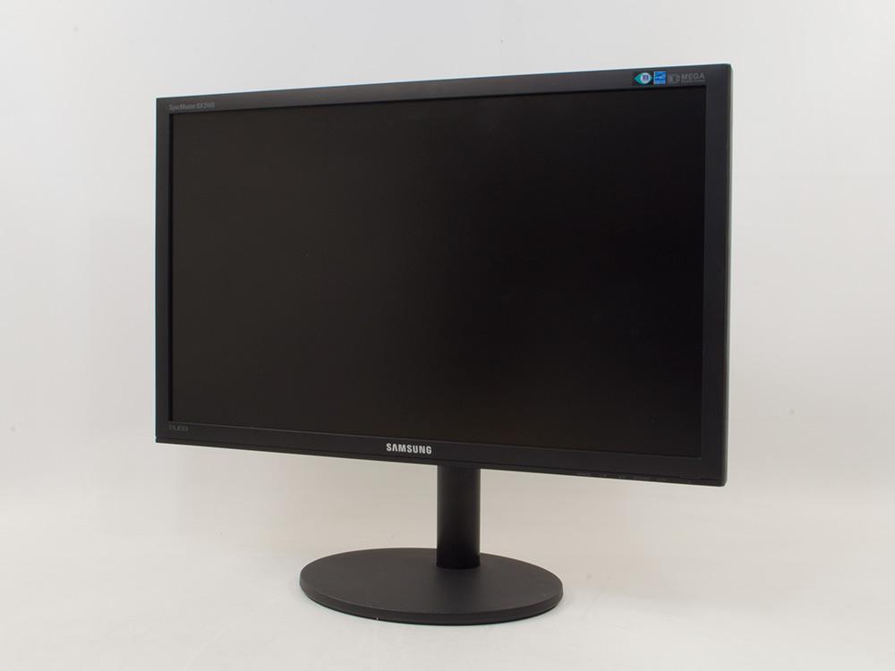 "Samsung SyncMaster BX2440 - 24"" | 1920 x 1080 (Full HD) | DVI | VGA (d-sub) | Silver | Black"