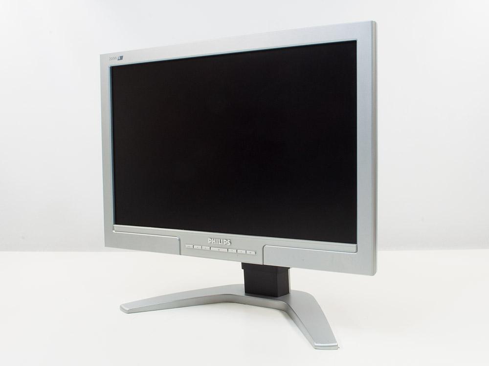 "Philips 200wb - 20"" | 1680 x 1050 | DVI | VGA (d-sub) | Silver"