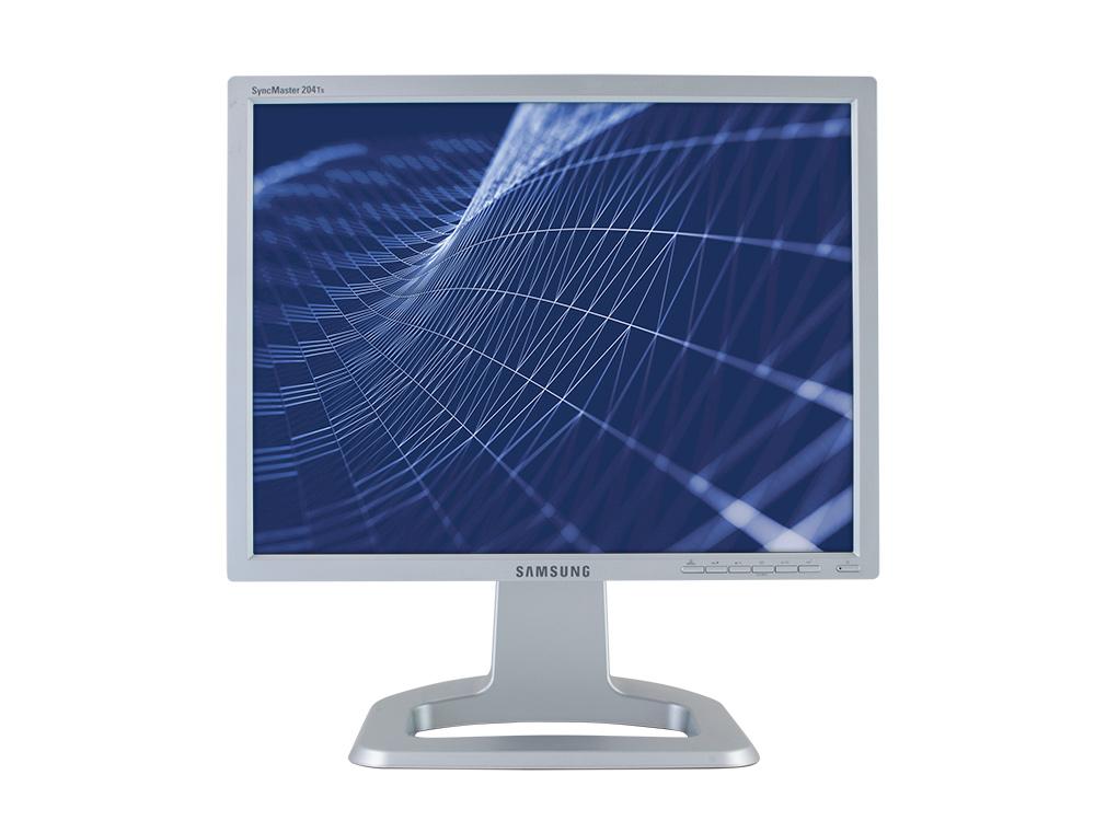 "Samsung SyncMaster 204Ts - 20"" | 1600 x 1200 | DVI | VGA (d-sub) | Silver"