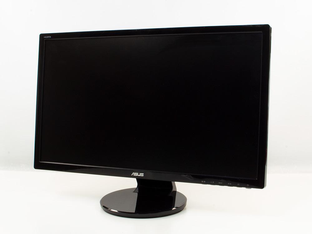"ASUS VE248H - 24"" | 1920 x 1080 (Full HD) | DVI | VGA (d-sub) | HDMI | Speakers | Silver"