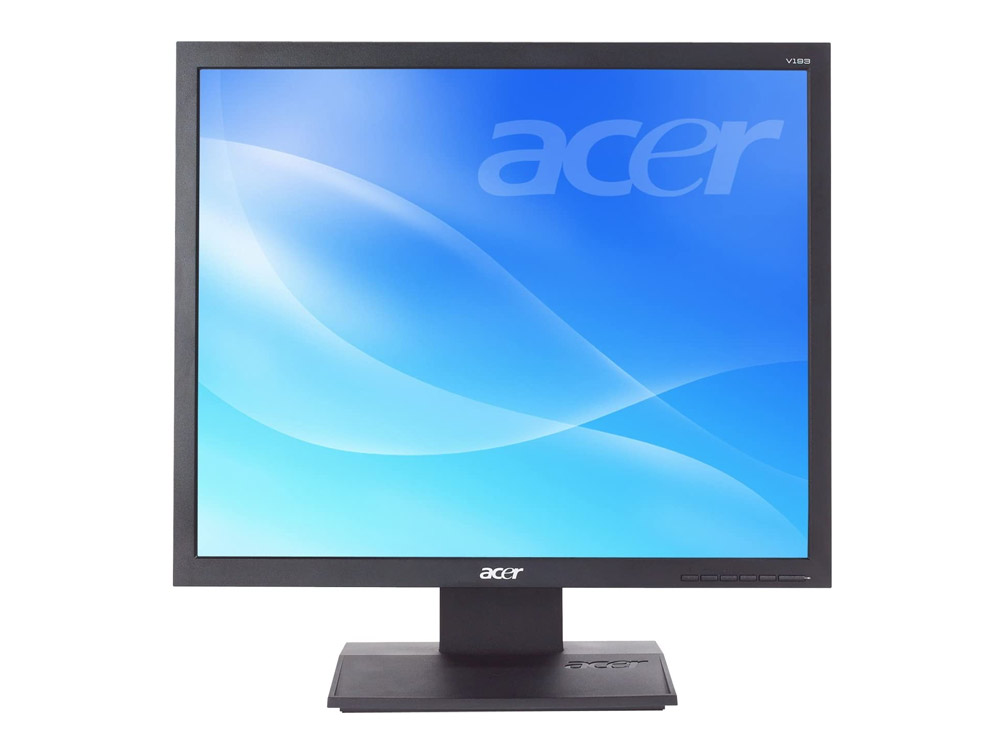 "Acer V193 - 19"" | 1280 x 1024 | VGA (d-sub) | Speakers | Silver"
