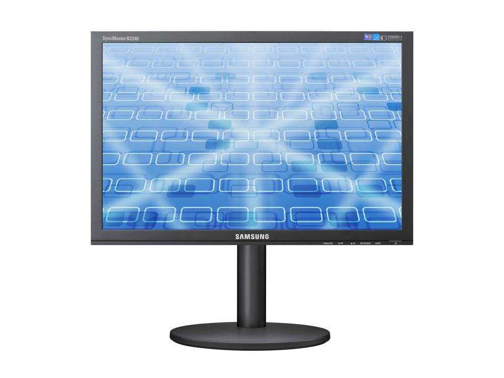 "Samsung SyncMaster B2240w - 22"" | 1680 x 1050 | DVI | VGA (d-sub) | Silver | Black"