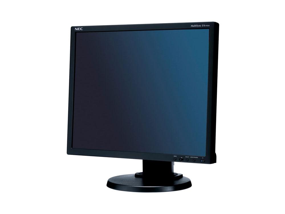 "NEC MultiSync EA190M - 19"" | 1280 x 1024 | LED | DVI | VGA (d-sub) | Speakers | Bronze"