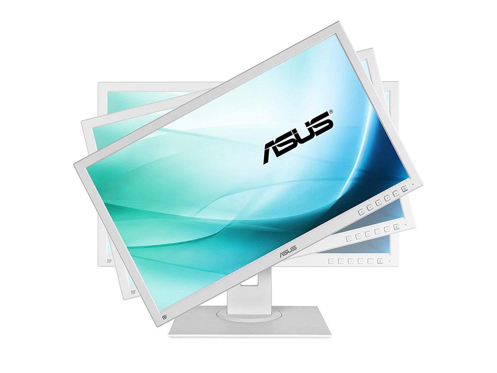 "ASUS BE24A - 24"" | 1920 x 1200 | LED | DVI | VGA (d-sub) | DP | USB 2.0 | Speakers | Silver | IPS | White"