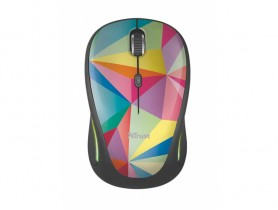 Trust Yvi FX Wireless Mouse - geometrics Myš - 1460053