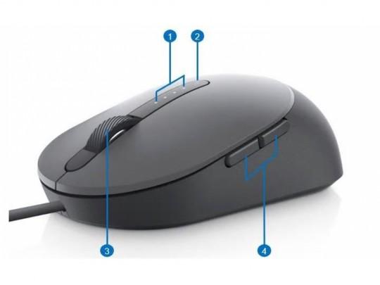 Dell Laser Mouse MS3220 USB, Black Myš - 1460054 #2
