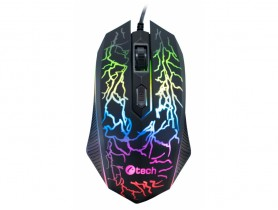 C-Tech Tychon (GM-03P), Casual Gaming, 7 Color, 3200DPI, USB Myš - 1460065