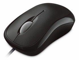 Microsoft Microsoft Basic Optical Mouse Mac/Win USB, Black