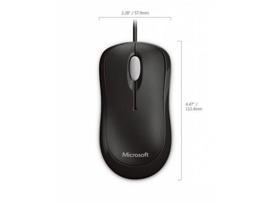 Microsoft Microsoft Basic Optical Mouse Mac/Win USB, Black Myš - 1460066 #2