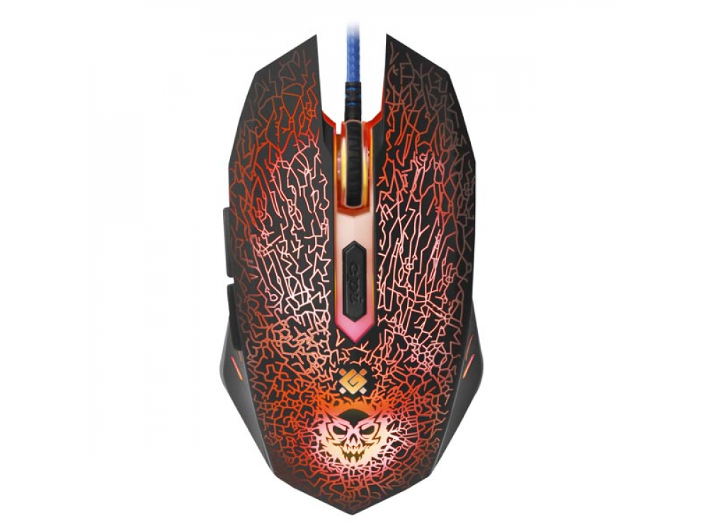 Myš Defender Shock GM-110L, 3200DPI, Optic, + Mouse Pad - NEW   Wired