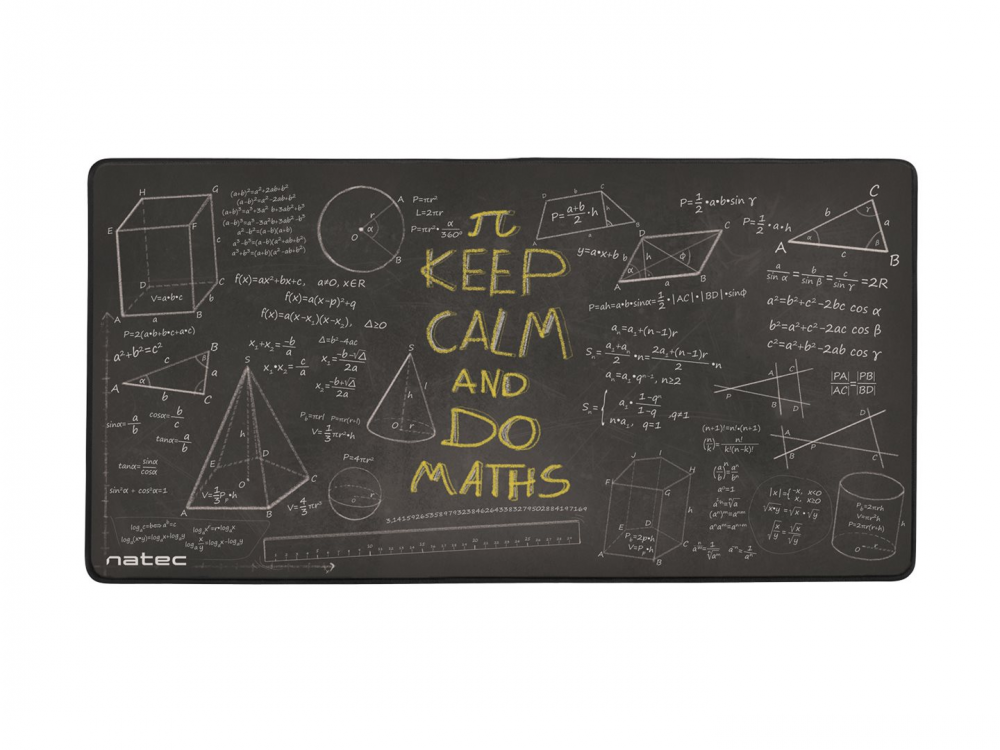 Mouse pad Natec Maxi Maths, 40x80cm - NEW