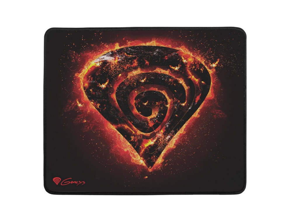 Mouse pad Genesis Carbon 500 M Fire (M12 FIRE), 300 x 250 x 2,5 mm - NEW