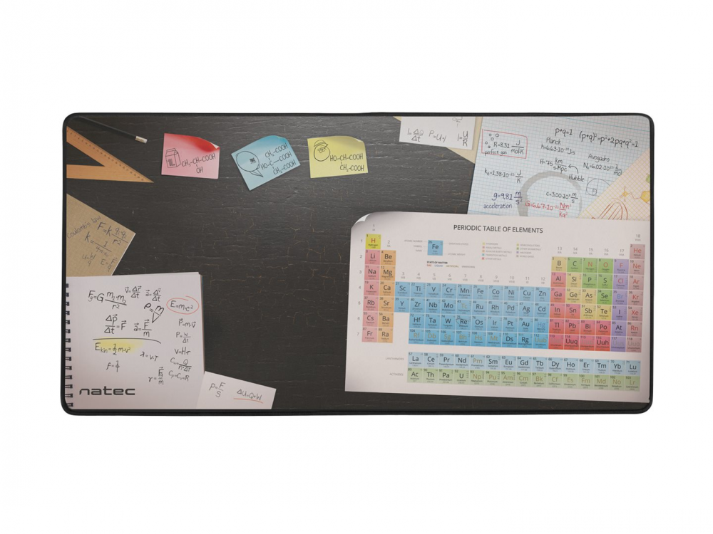 Mouse pad Natec Maxi Science, 40x80cm - NEW