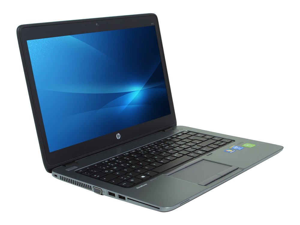 "HP EliteBook 840 G1 - i5-4300U   8GB DDR3   240GB SSD   NO ODD   14""   1366 x 768   Webcam   HD 4400   Win 10 Pro   Silver"