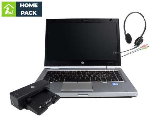 HP EliteBook 8440p + HP Compaq HSTNN-I11X Docking Station + Headset Notebook - 1523220 #1