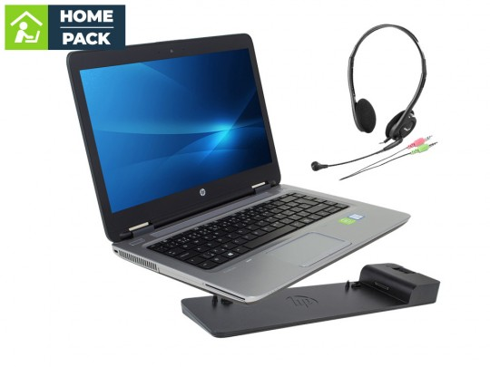HP ProBook 640 G2 + HP 2013 Ultra Slim D9Y32AA dock station + Headset Notebook - 1523221 #1