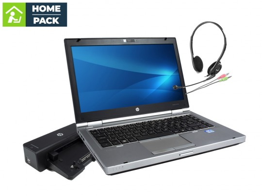 HP EliteBook 8470p + Docking station HP Compaq HSTNN-I11X + Headset Notebook - 1523266 #1