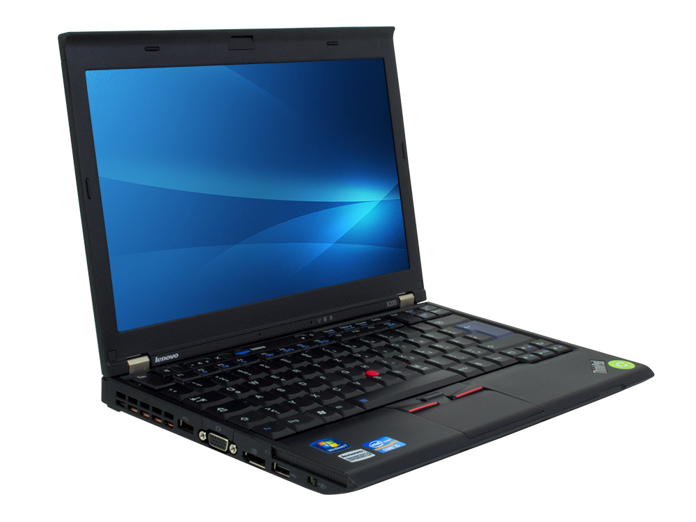 "Lenovo ThinkPad X220 - i5-2540M | 4GB DDR3 | 160GB SSD | NO ODD | 12,5"" | 1366 x 768 | Webcam | HD 3000 | Win 7 Pro COA | Bronze"