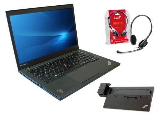 "Lenovo ThinkPad T440 + ThinkPad Pro Dock (Type 40A1) + Headset repasovaný notebook, Intel Core i5-4300U, HD 4400, 8GB DDR3 RAM, 180GB SSD, 14,1"" (35,8 cm), 1600 x 900 - 1524454 #7"