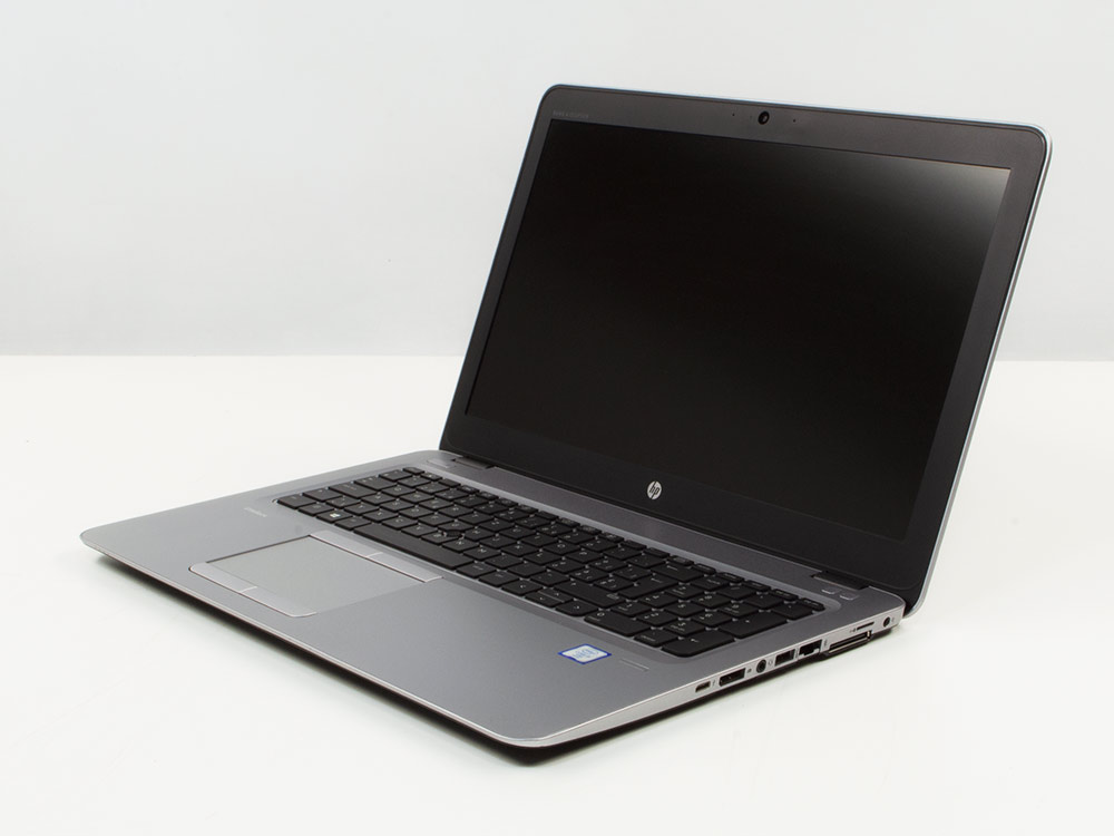 "HP EliteBook 850 G3 - i5-6200U | 8GB DDR4 | 256GB SSD | NO ODD | 15,6"" | 1920 x 1080 (Full HD) | NumPad | Webcam | HD 520 | Win 10 Pro | Silver"