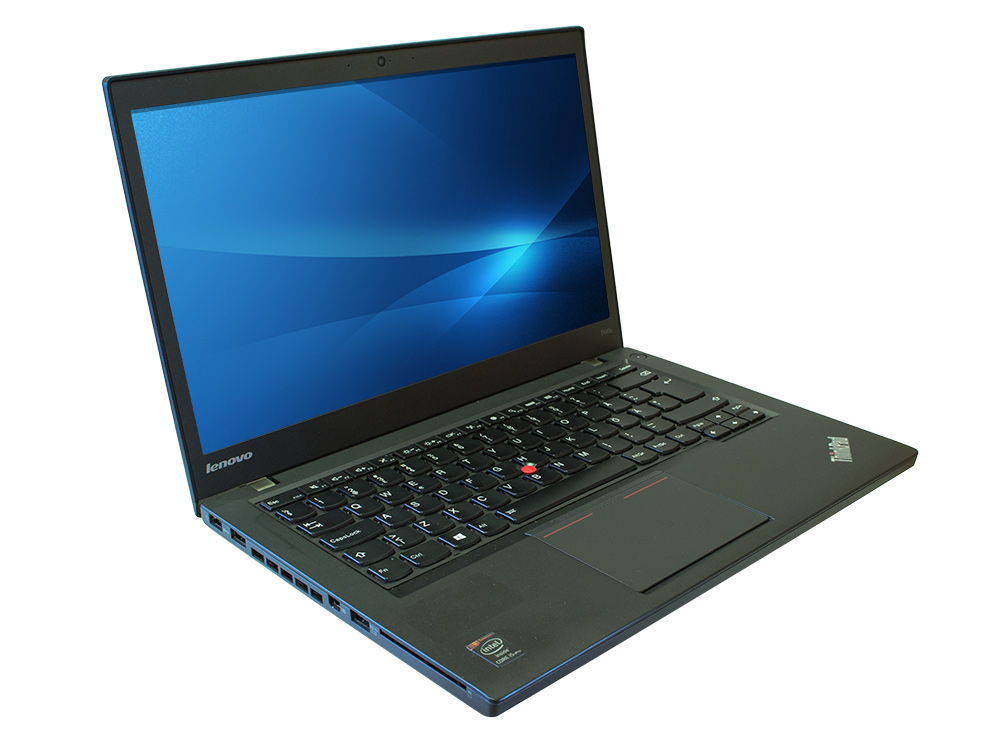 "Lenovo ThinkPad T440 - i5-4300U | 8GB DDR3 | 240GB SSD | NO ODD | 14,1"" | 1600 x 900 | Webcam | HD 4400 | Win 10 Pro | Silver"
