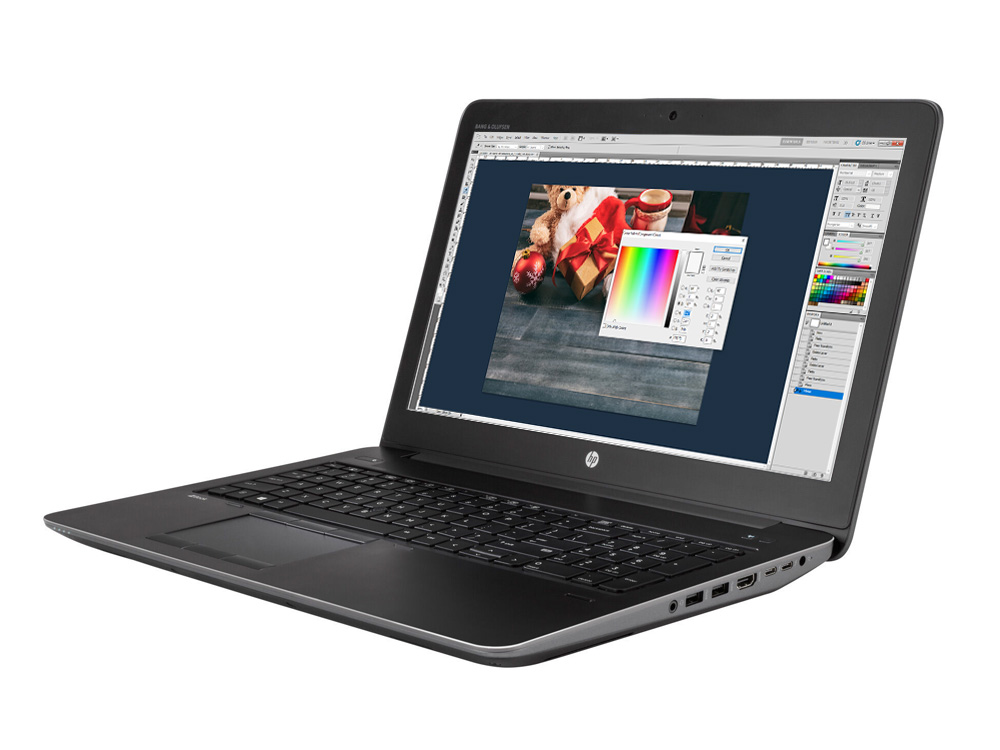 HP ZBook 15 G3 - i7-6820HQ | 16GB DDR3 | 256GB SSD | NO ODD | 15,6"
