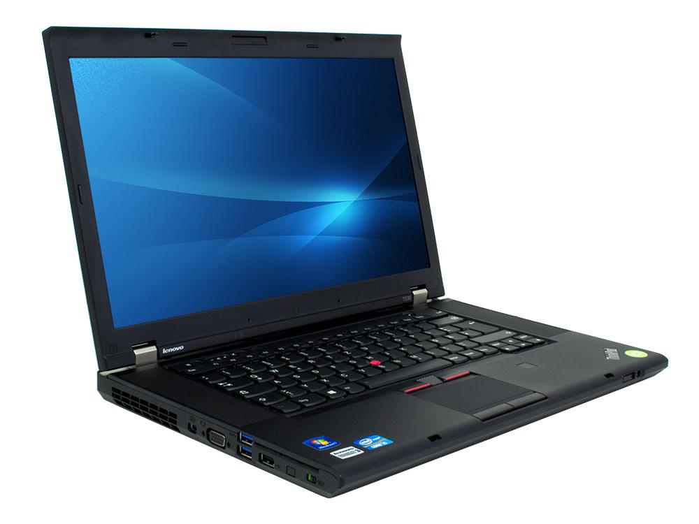 "Lenovo ThinkPad T530 - i5-3320M | 4GB DDR3 | 128GB SSD | DVD-RW | 15,6"" | 1600 x 900 | HD 4000 | Win 7 Pro COA | Silver"