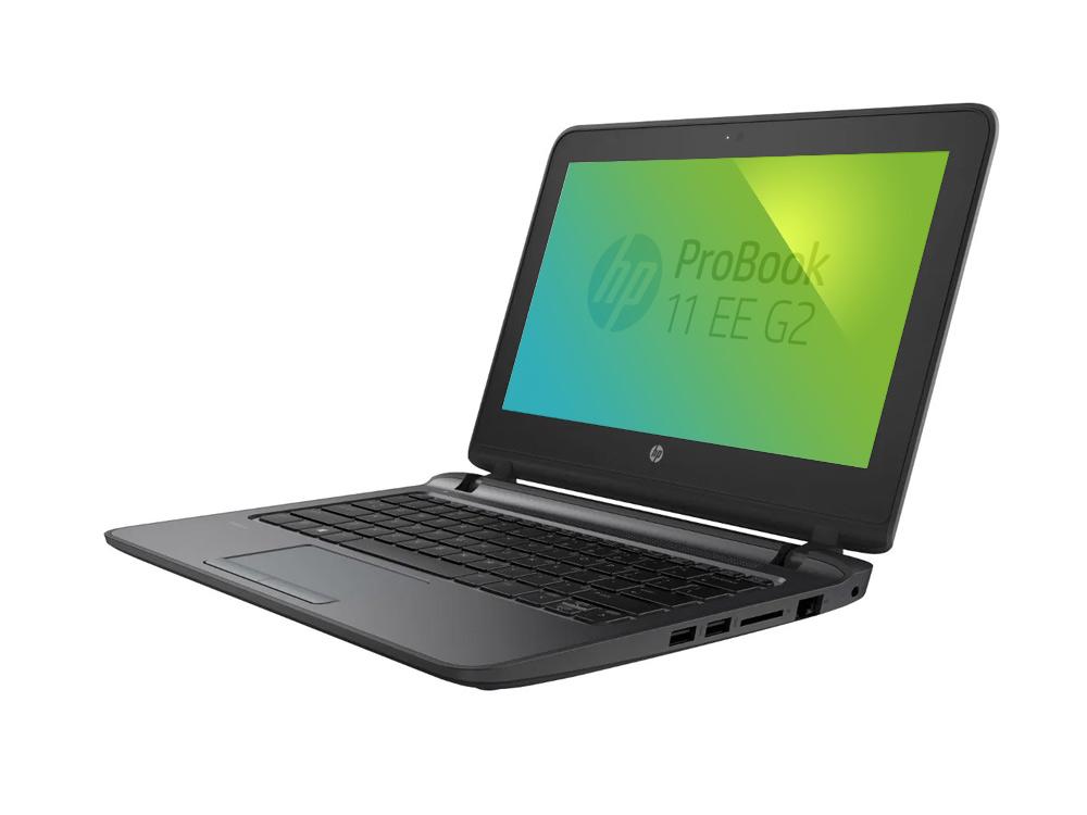 "HP ProBook 11 EE G2 - Celeron 3855u | 4GB DDR4 | 500GB HDD 2,5"" | NO ODD | 11,6"" | 1366 x 768 | Webcam | HD 510 | Win 10 Pro | HDMI | Bronze"