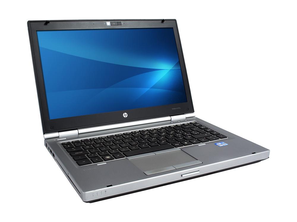"HP EliteBook 8470p - i5-3210M | 4GB DDR3 | 500GB HDD 2,5"" | DVD-RW | 14"" | 1366 x 768 | Webcam | Intel HD | Win 7 Pro COA | Silver"