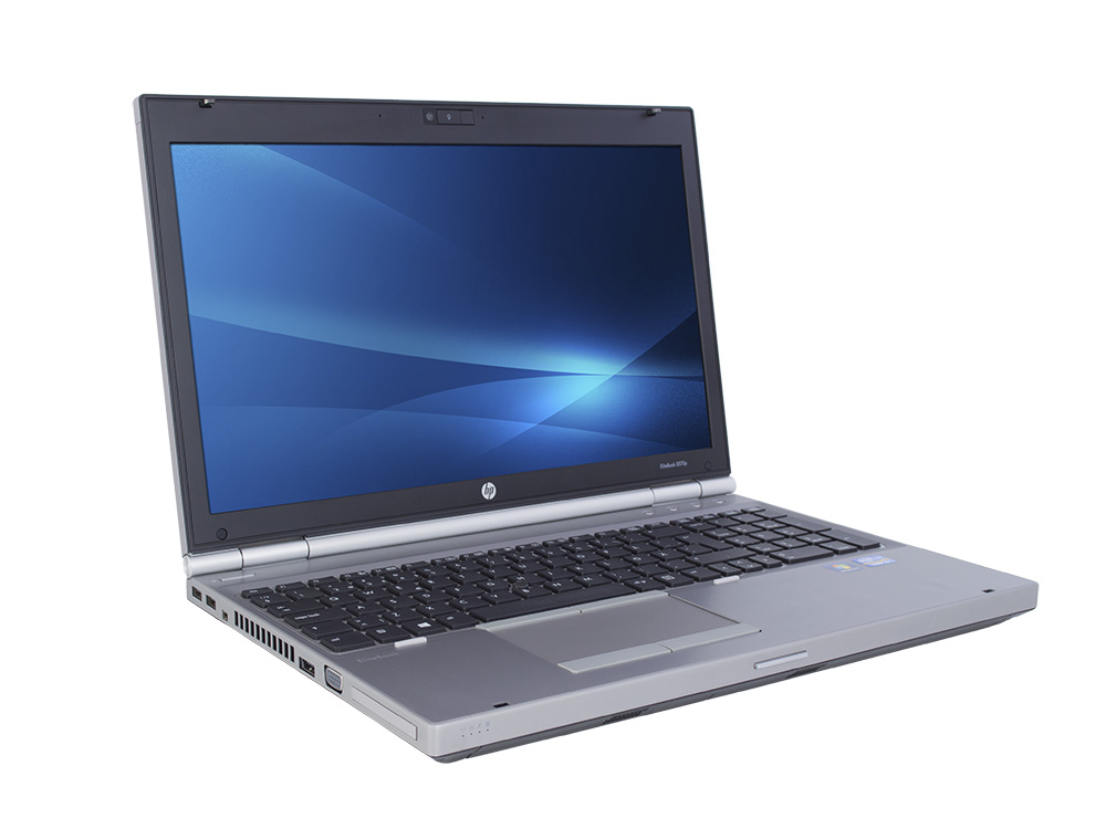 "HP EliteBook 8560p - i5-2540M | 8GB DDR3 | 500GB HDD 2,5"" | DVD-RW | 15,6"" | 1600 x 900 | NumPad | Webcam | HD 3000 | Win 7 Home COA | Bronze"