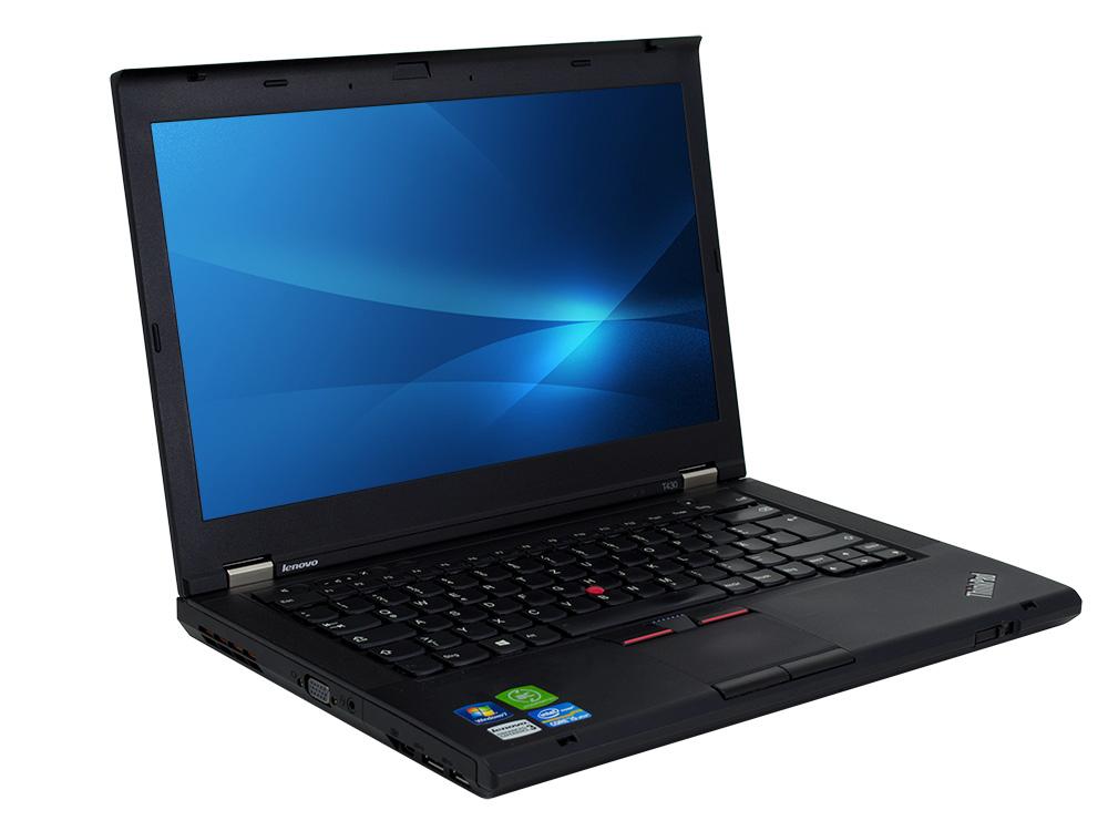 """Lenovo ThinkPad T430 - i5-3230M   4GB DDR3   320GB HDD 2,5""""   DVD-RW   14""""   1366 x 768   Webcam   HD 4000   Win 10 Pro   Silver"""