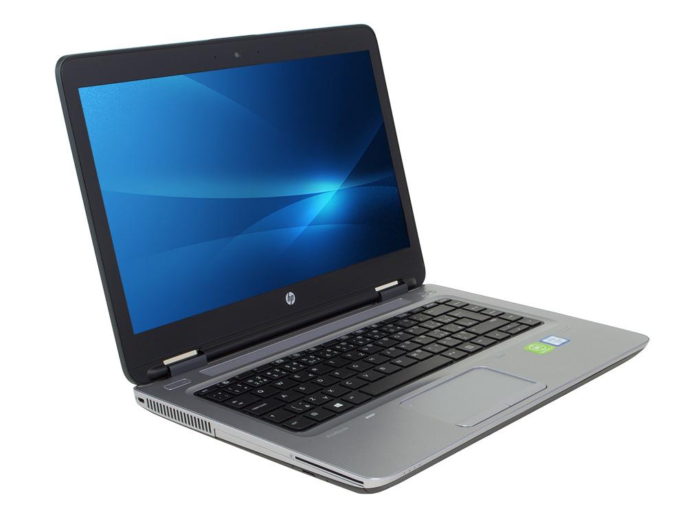 """HP ProBook 640 G2 - i5-6200U   8GB DDR4   256GB SSD   NO ODD   14""""   1920 x 1080 (Full HD)   Webcam   HD 520   Win 10 Pro   Silver"""
