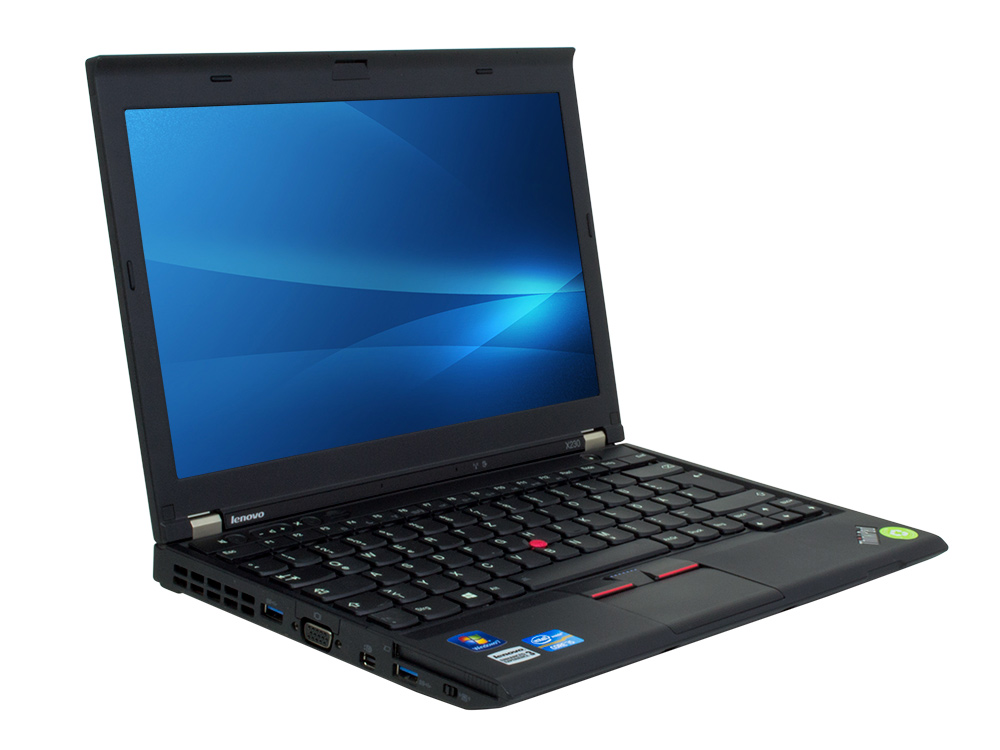 "Lenovo ThinkPad X230 - i7-3520M | 4GB DDR3 | 180GB SSD | NO ODD | 12,5"" | 1366 x 768 | Webcam | HD 4000 | Win 7 Pro COA | Silver"